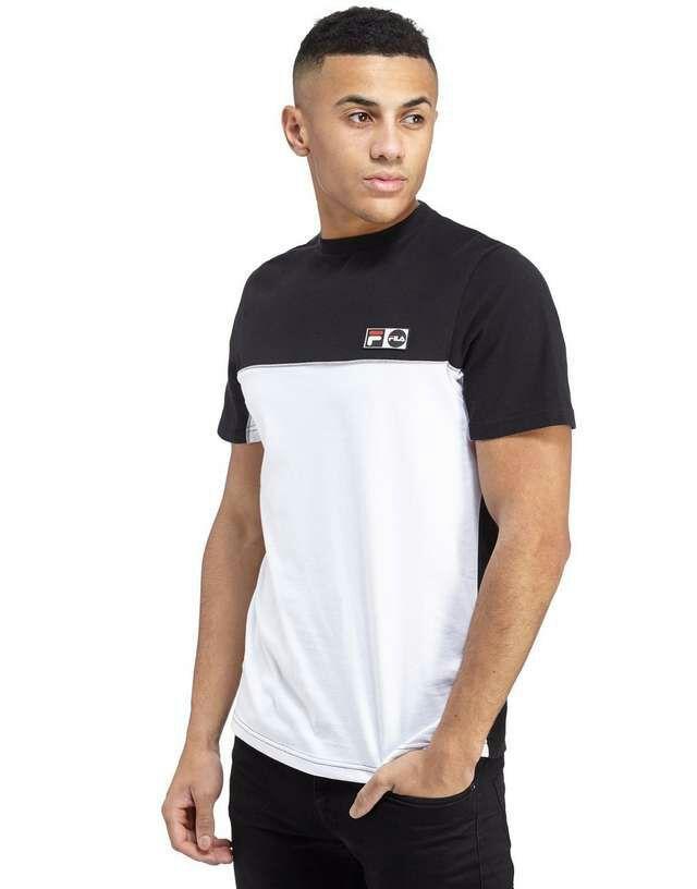 T-shirt Fila vintage noir ou bleu + livraison gratuite