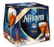 Pack de 12 x 25 cl bouteilles de bière ambrée Affligem