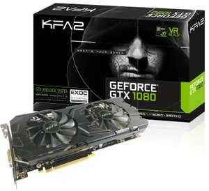 Carte graphique KFA2 GeForce GTX 1080 EXOC Sniper - 8 Go