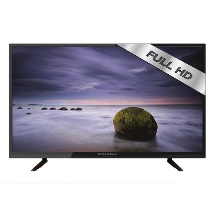 "TV 39"" Continental Edison 390816B7 - LED, Full HD"