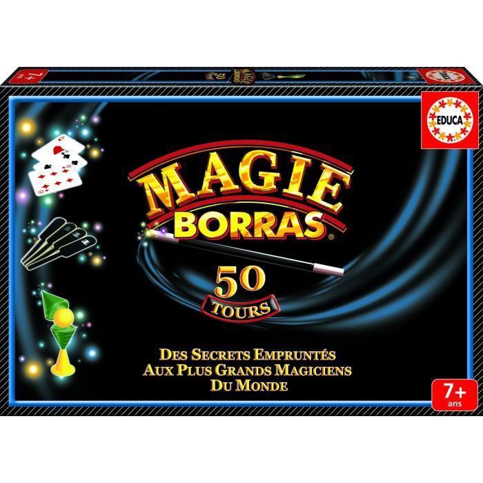 Coffret de magie Educa - 50 tours
