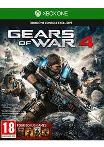 Gears of War 1, 2, 3 et 4 sur Xbox One