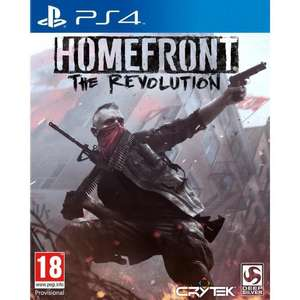 Jeu Homefront: The Revolution sur PS4 / Xbox One