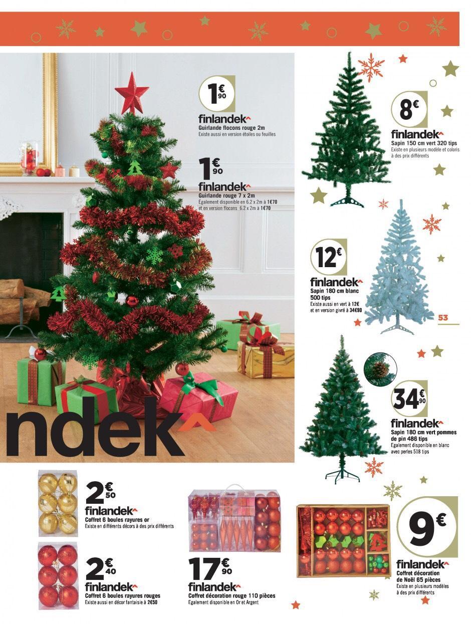 Sélection de sapins de noel Finlandek - Ex : Sapin de Noël blanc -180cm, 500 épines