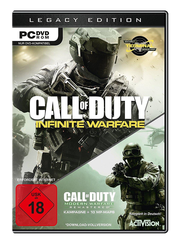 Call of Duty: Infinite Warfare - Legacy Edition ( Infinite Warfare + Moderne Warfare Remastered ) sur PC