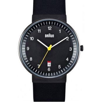 Sélection de montres Braun en promo - Ex : Montre quartz Braun avec bracelet en cuir