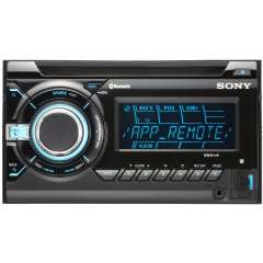 Autoradio 2 Din CD, USB, iPod, Bluetooth Sony WX-GT90BT / compatible iPhone et android - Reconditionné