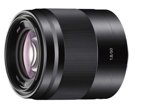 Objectif Sony SEL50F18 Monture E APS-C 50 mm F1.8 - Noir