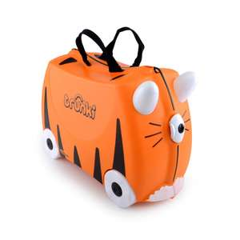 Valise trolley pour enfant Trunki Ride-On - orange