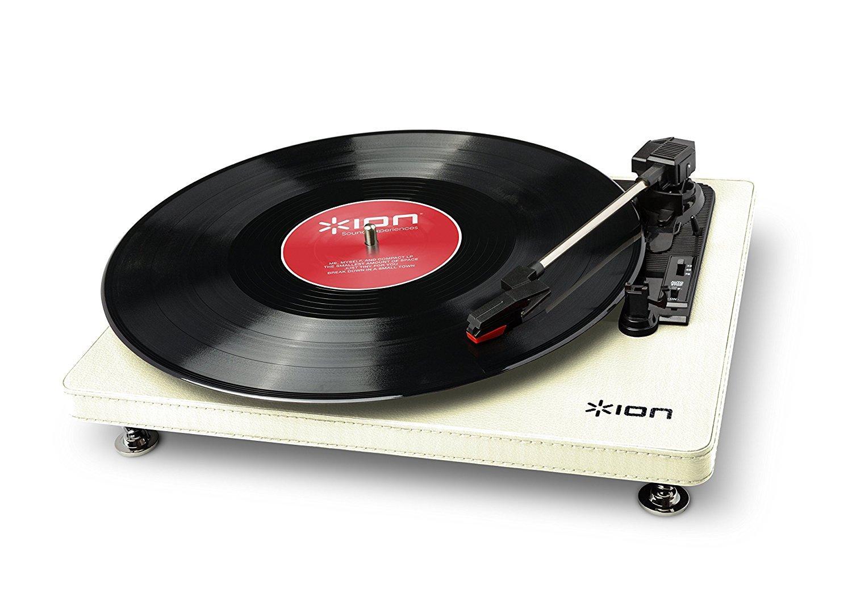 Platine vinyle USB ION Compact LP burgund - beige