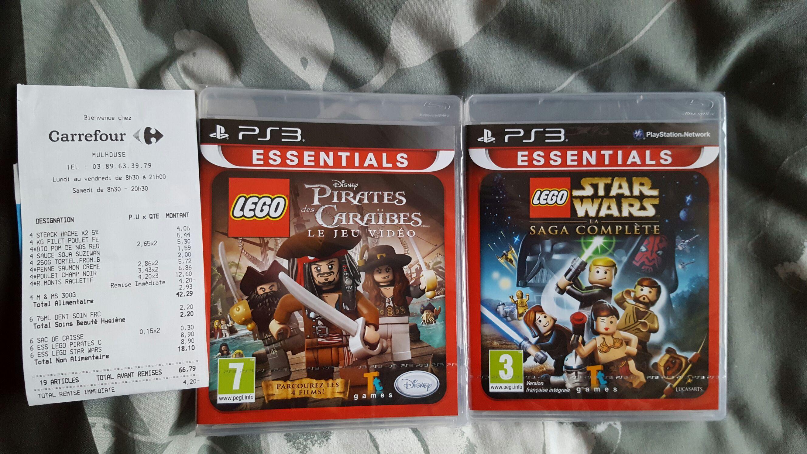 Sélection de jeux en promotion - Ex: Lego Star Wars - La saga complète Edition Essential sur PS3