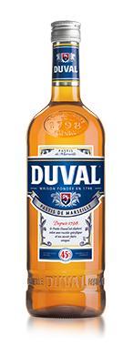 Bouteille de Pastis Duval 1L (via 7.79€ sur la carte)