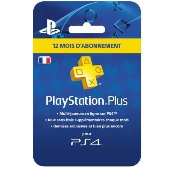 Jusqu'à 20% de réduction sur une sélection d'articles - Ex : Abonnement Playstation Plus 12 mois