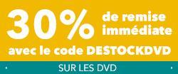 30% de réduction sur une sélection de DVD et blu ray - Ex : Star wars épisode 7 BR 3D à 15,39 €