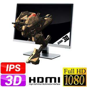 """Ecran PC 23"""" AOC D2367Ph dalle IPS 3D passif Full HD + 2 paires de lunettes fournies / livraison gratuite"""