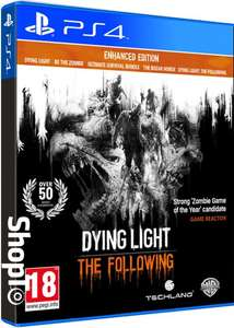 Sélection de Jeux en promotion - Ex Dying Light The Following Enhanced Edition
