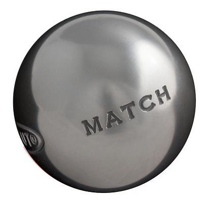 Jeu de 3 boules de pétanque Obut Match