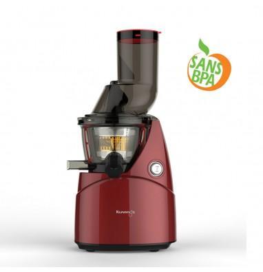 Extracteur de jus vertical Kuvings B9000 (gris, rouge ou blanc) + kit à sorbets et smoothies
