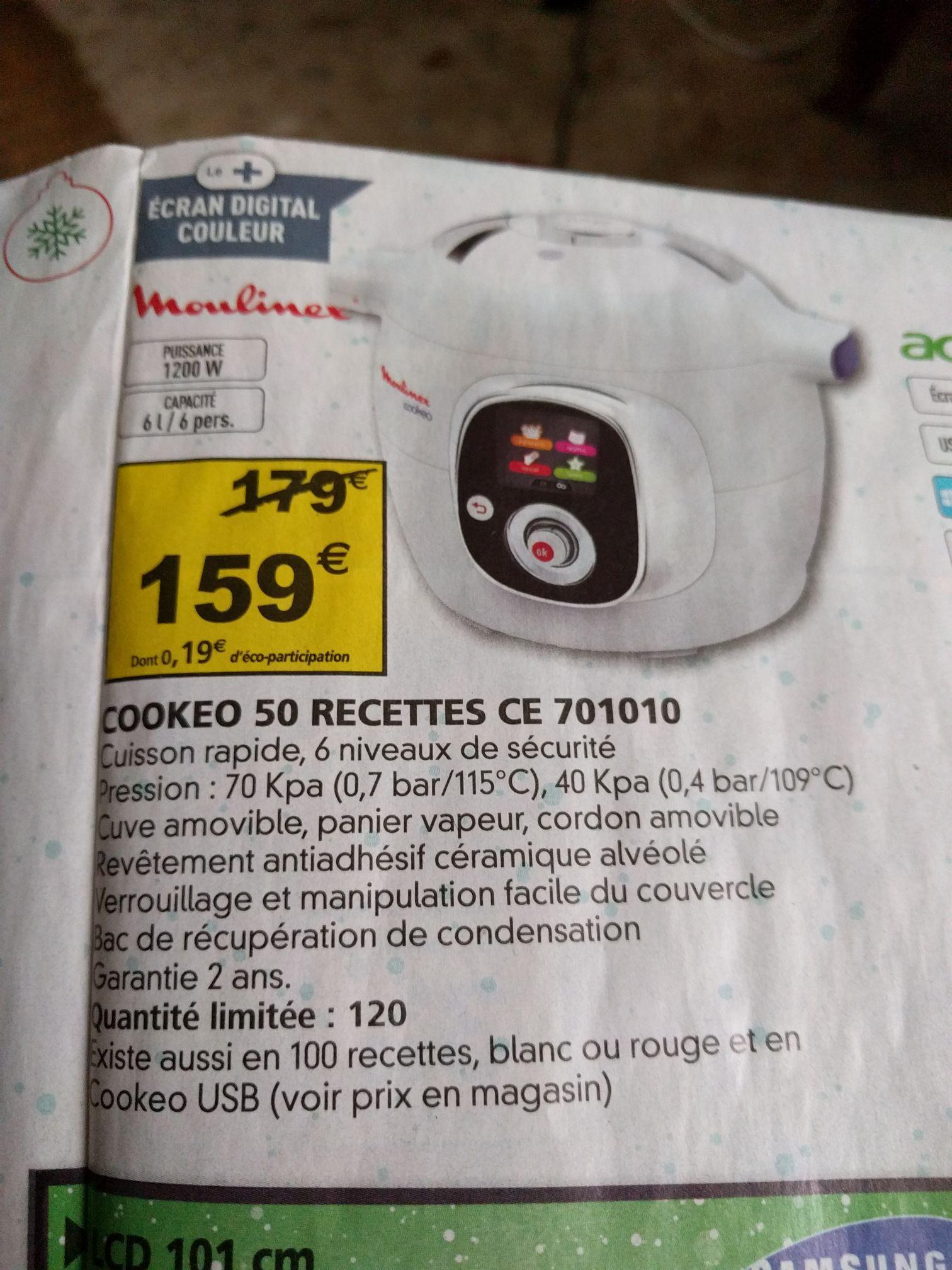 Multicuiseur Intelligent Cookeo CE701010  Moulinex