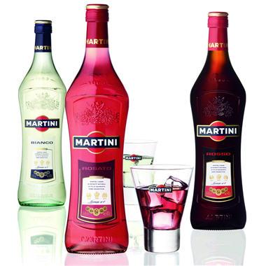 2 bouteilles 1L Martini