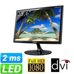 "Ecran PC 24"" Samsung S24B300BLZ Led Full HD - 2ms"