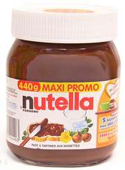 3 pots de Nutella 440G