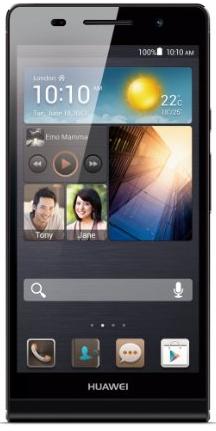 Smartphone Huawei Ascend P6 noir