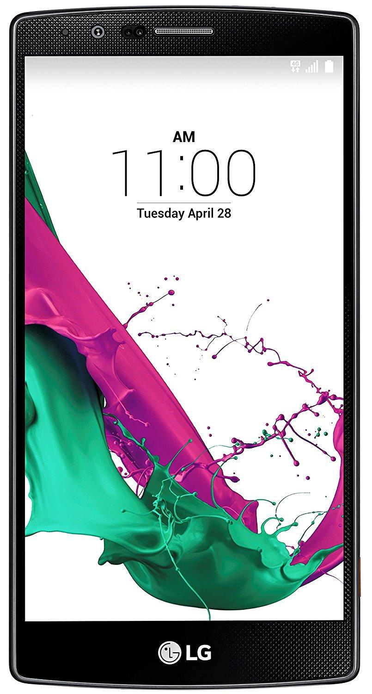 "Smartphone 5.5"" LG G4 H815 - Cuir noir"