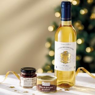 Coffret Noël Gourmand offert pour tout achat