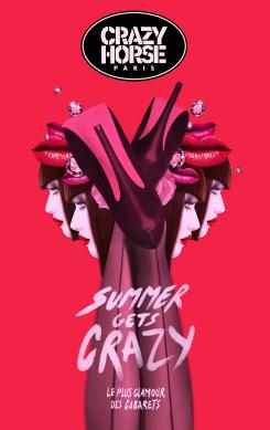 - 49 % Entrèe Crazy Horse - Revue Desirs du lundi 18 au samedi 31 Août