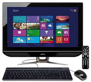"PC de bureau tout en un Medion P2004DR i3-3225, 23,6"" Full HD non-tactile, 1 To HDD, 4 Go RAM, Tuner TNT, WiFi, Win8 - Reconditionné"