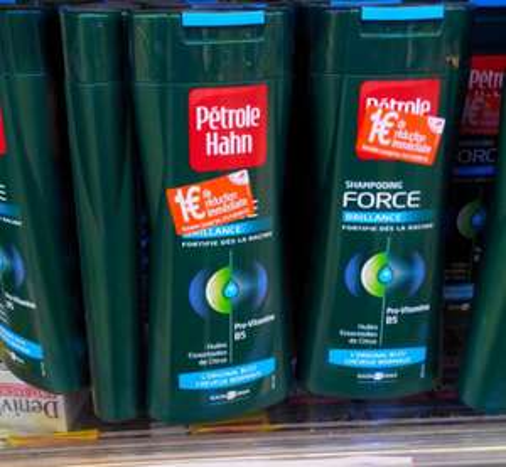 3 Shampooings Pétrole Hahn