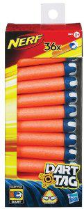 Pack de 36 fléchettes Nerf dart tag (4€ de port)