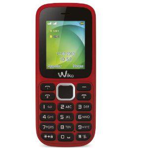 Téléphone Portable Wiko Lubi 2 Rouge double SIM