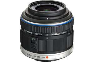 Objectif pour Hybride Olympus 14-42mm silver