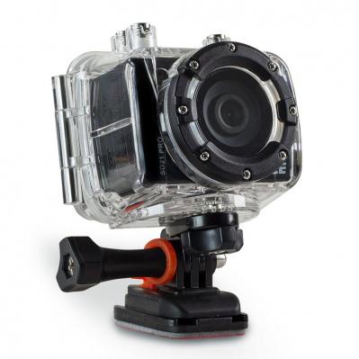 Camera AEE SD21 avec accessoires moto-cycle + harnais poitrine noir