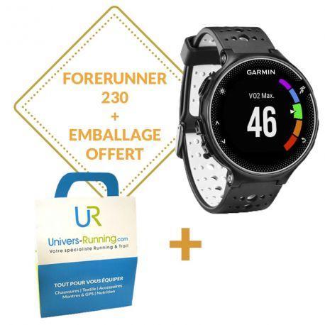 Montre GPS Garmin Forerunner 230 - Noire/jaune