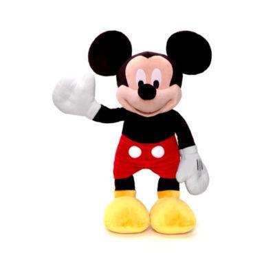 Sélection de grandes peluches Disney en promotion - Ex : Peluche Mickey Mouse - 72cm