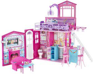 Barbie Maison glamour Mattel Maisons de poupées