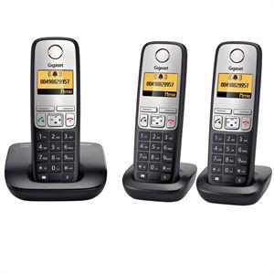 Téléphone DECT Siemens A400TRIO sans fil avec 2 combinés supplementaires