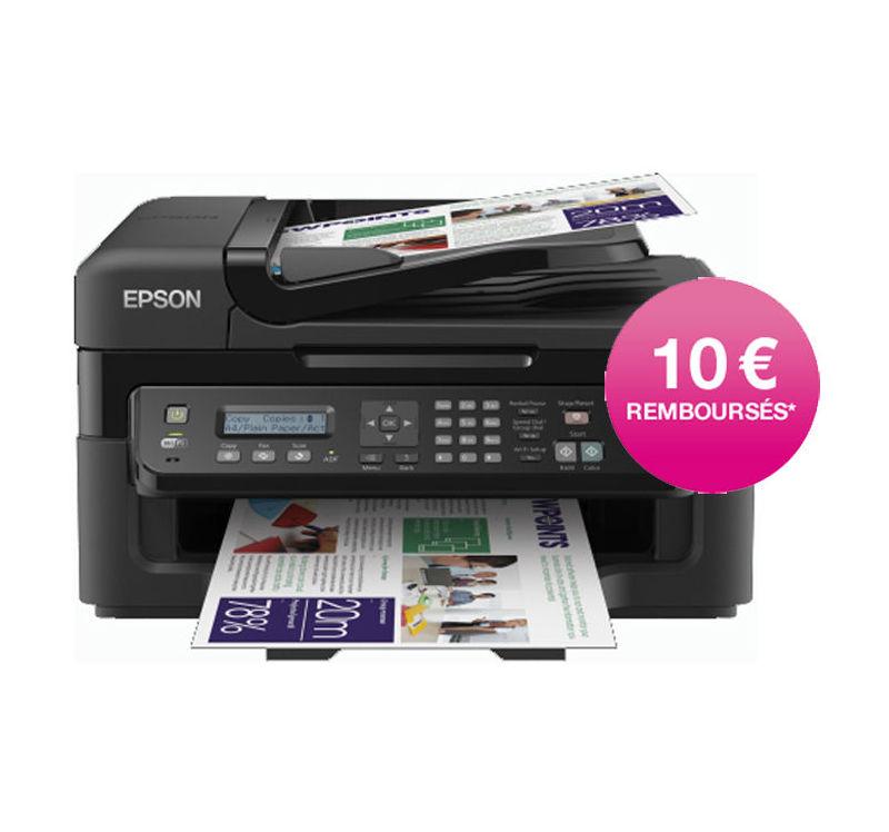 Imprimante Epson Workforce wf2530wf (Avec ODR de 10€)