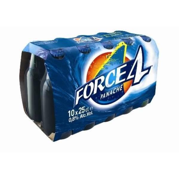 3 Packs de 10 bouteilles de 25 cl de Panaché Force 4