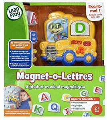 Jeu Educatif Leapfrog Magnet-O-Lettres