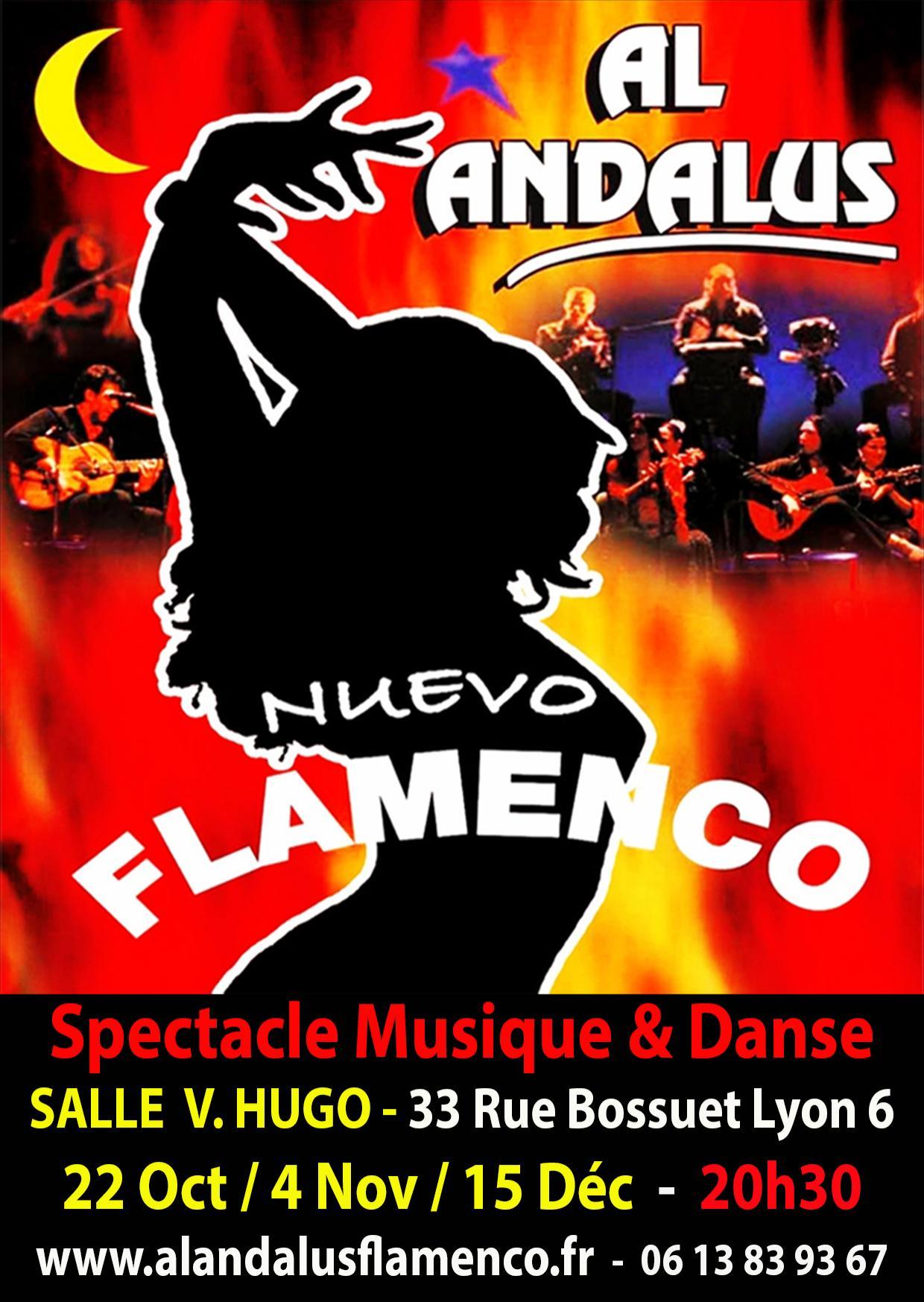 Invitations gratuites pour le spectacle de danse Al Andalus Flamenco Nuevo - Salle Victor Hugo à Lyon