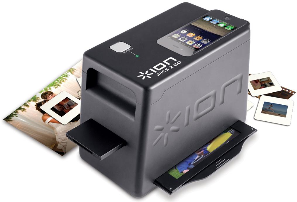 ION Audio Pics2Go Scanner Photos, Diapos et Négatifs pour iPhone 4/4S