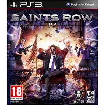 Saints Row 4 PS3 et Xbox 360