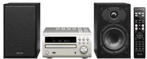 Micro chaîne hifi DENON D-M39 (CD, UKW-Tuner, 2x 30 Watt, USB) silber/noir