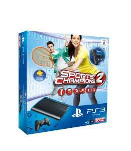 Pack Sony PS3 500 Go + PlayStation Move + Caméra + Sports Champions 2
