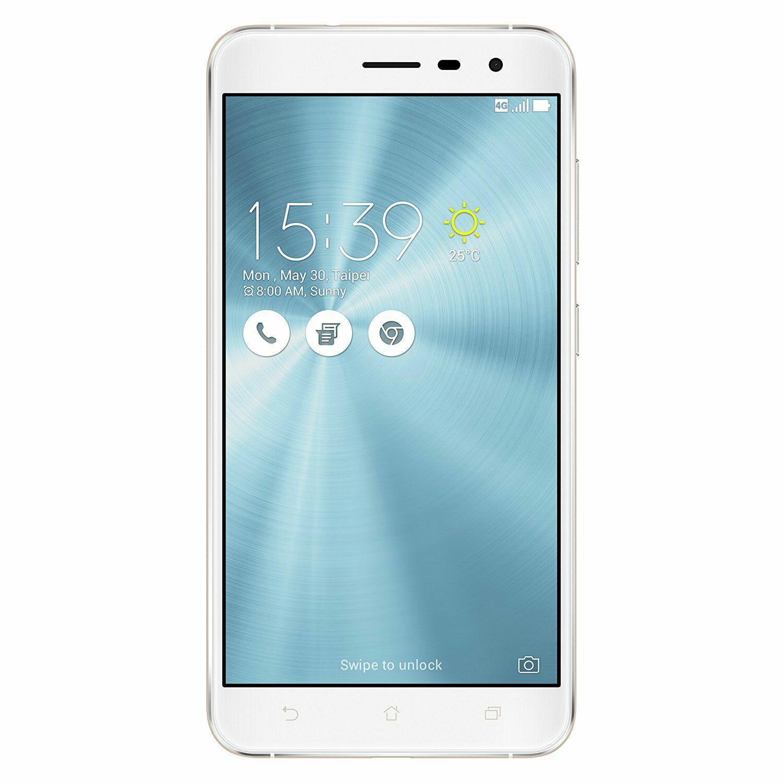 """Smartphone 5.5"""" Asus Zenfone 3 - 64 Go, 4 Go RAM, Blanc (Via ODR 30€)"""