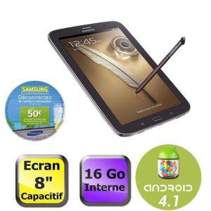 """Samsung Galaxy Note 8"""" WiFi 16 Go Marron (Avec ODR de 50€)"""